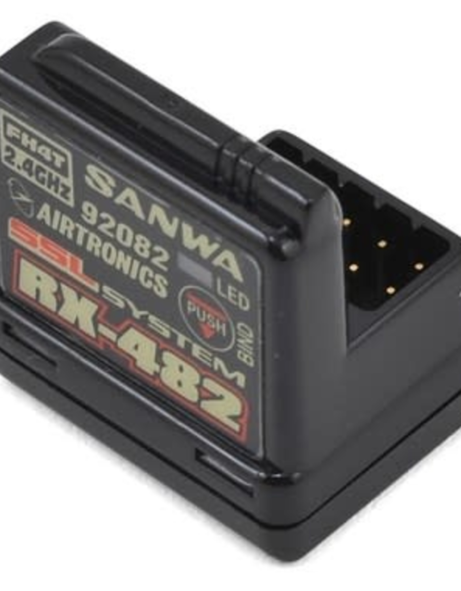 Sanwa Sanwa/Airtronics RX-482 2.4GHz 4-Channel FHSS-4 SSL Telemetry Receiver