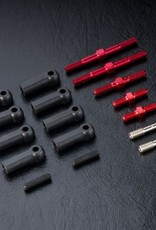 MST MXSPD210406R FXX-D S Turnbuckle shaft set (red) 210406R by MST