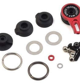 MST MST Aluminum 8-Point Adjustable Servo Saver (Red)