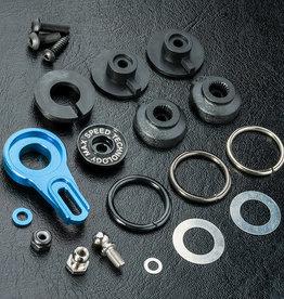 MST MST Aluminum 8-Point Adjustable Servo Saver (BLUE)