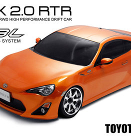 MST 533704O RMX 2.0 RTR TOYOTA FT-86 (ORANGE) (brushless)