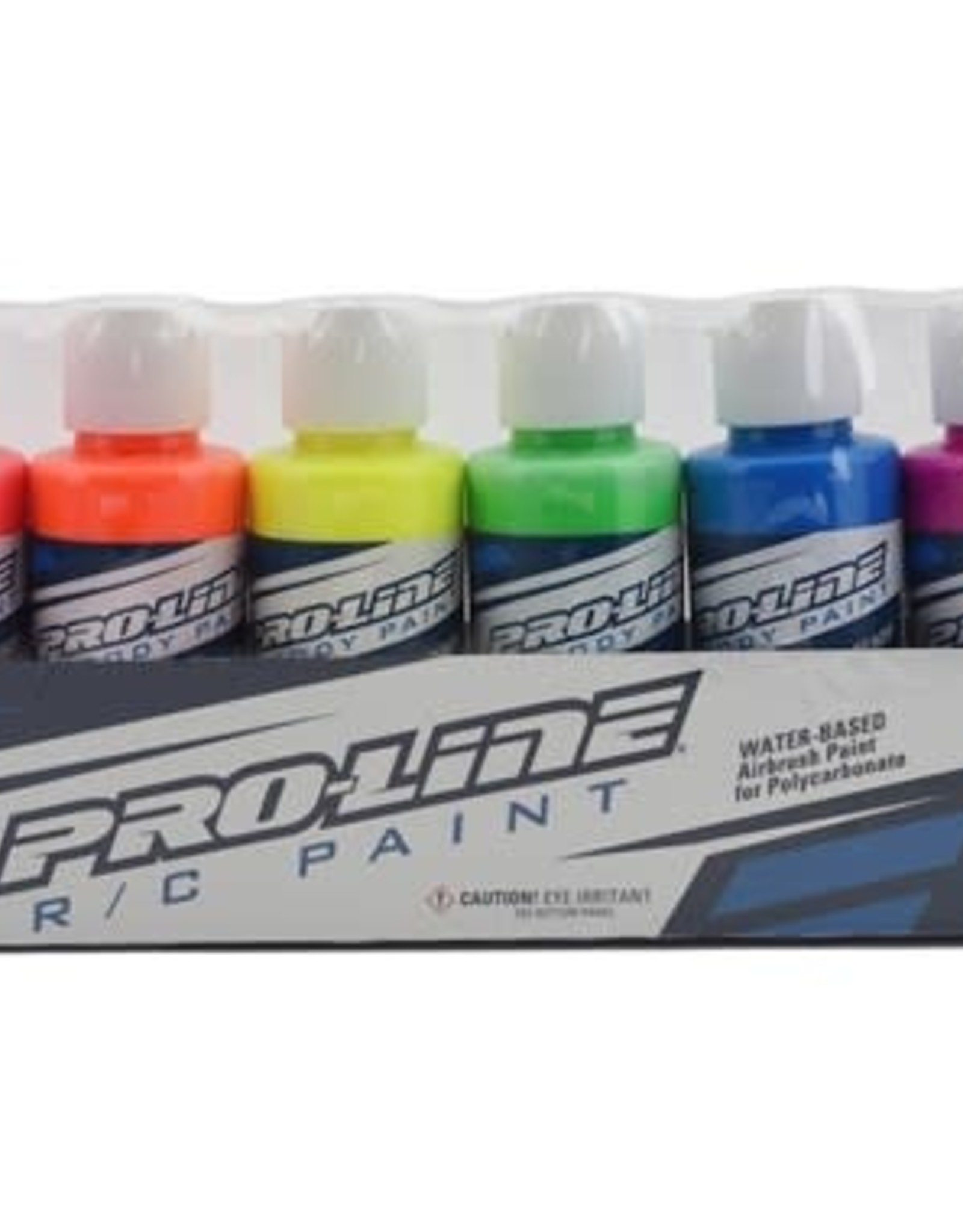 Pro-Line Pro-Line RC Body Airbrush Paint Fluorescent Color Set (6)
