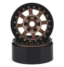 "SSD SSD RC Assassin 1.9"" Beadlock Crawler Wheels (Bronze) (2)"
