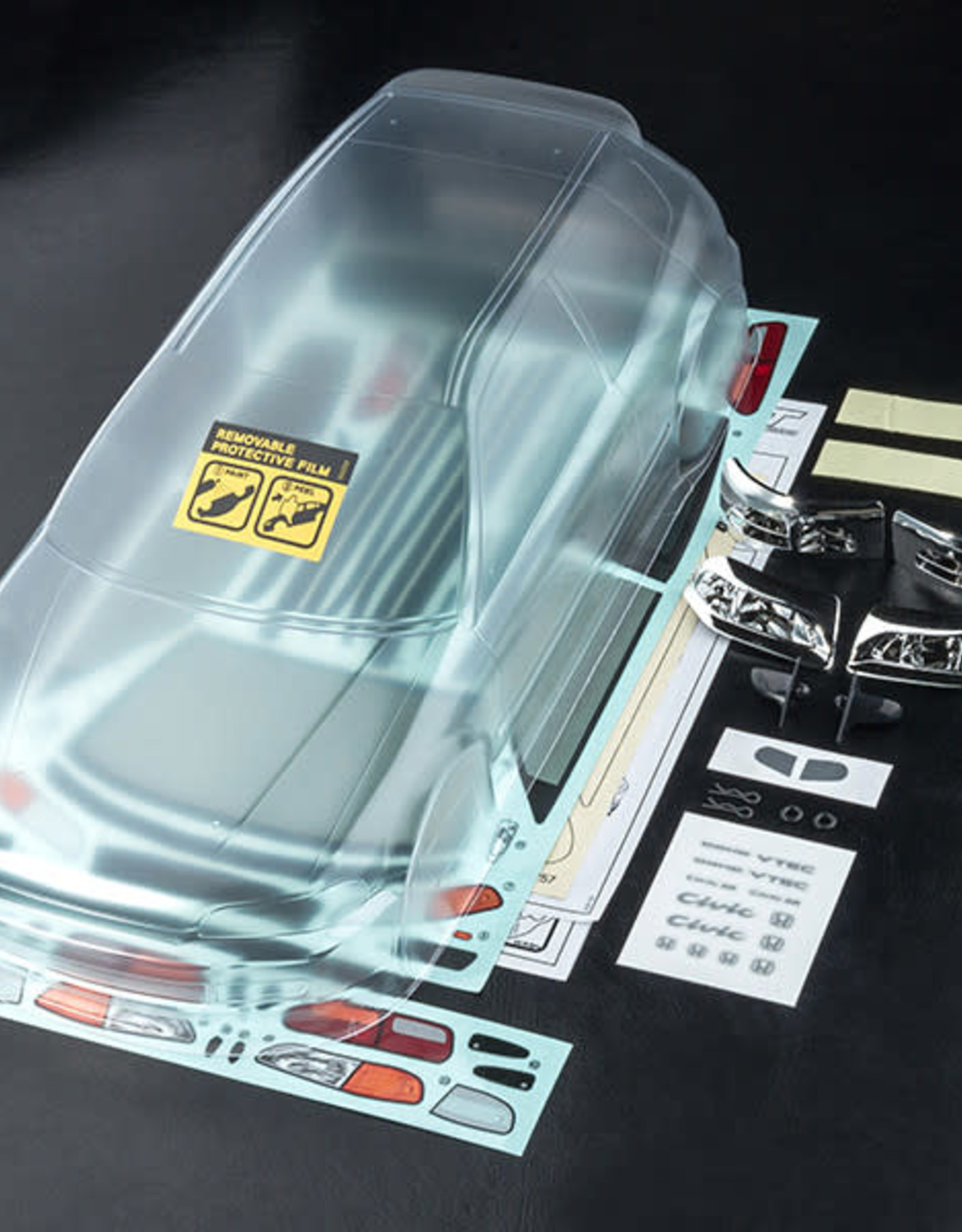 MST MST HONDA CIVIC EG6 body (clear)