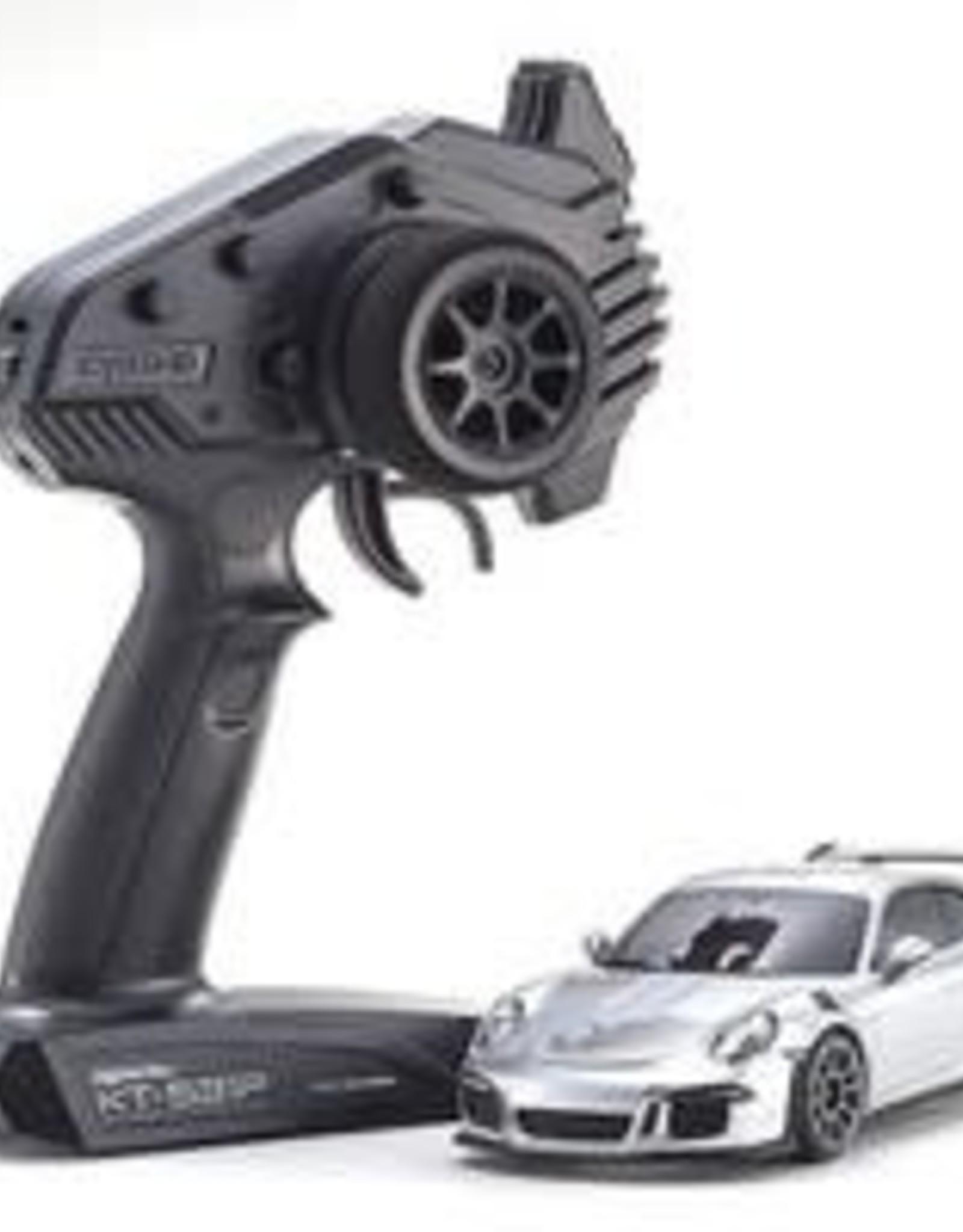kyosho MINI-Z Porsche 911 GT3 RS GT RTR, Silver Metallic, RWD