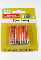 PN Racing PN Racing Extremem Power 555mah Li-Ion 3.7V Rechargable AAA Battery (4pcs)