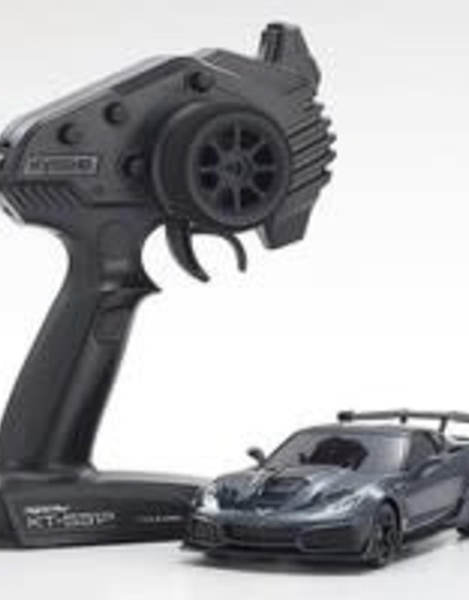 kyosho MINI-Z MR-03 RWD Corvette ZR1 Readyset, Gray Metallic w/LED Lights, Readyset