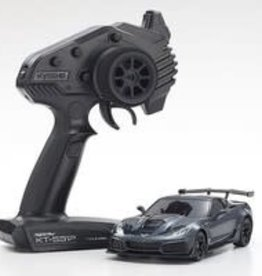 kyosho MINI-Z MR-03 RWD Corvette ZR1 Readyset, Gray Metallic w/LED Lights, Readyset