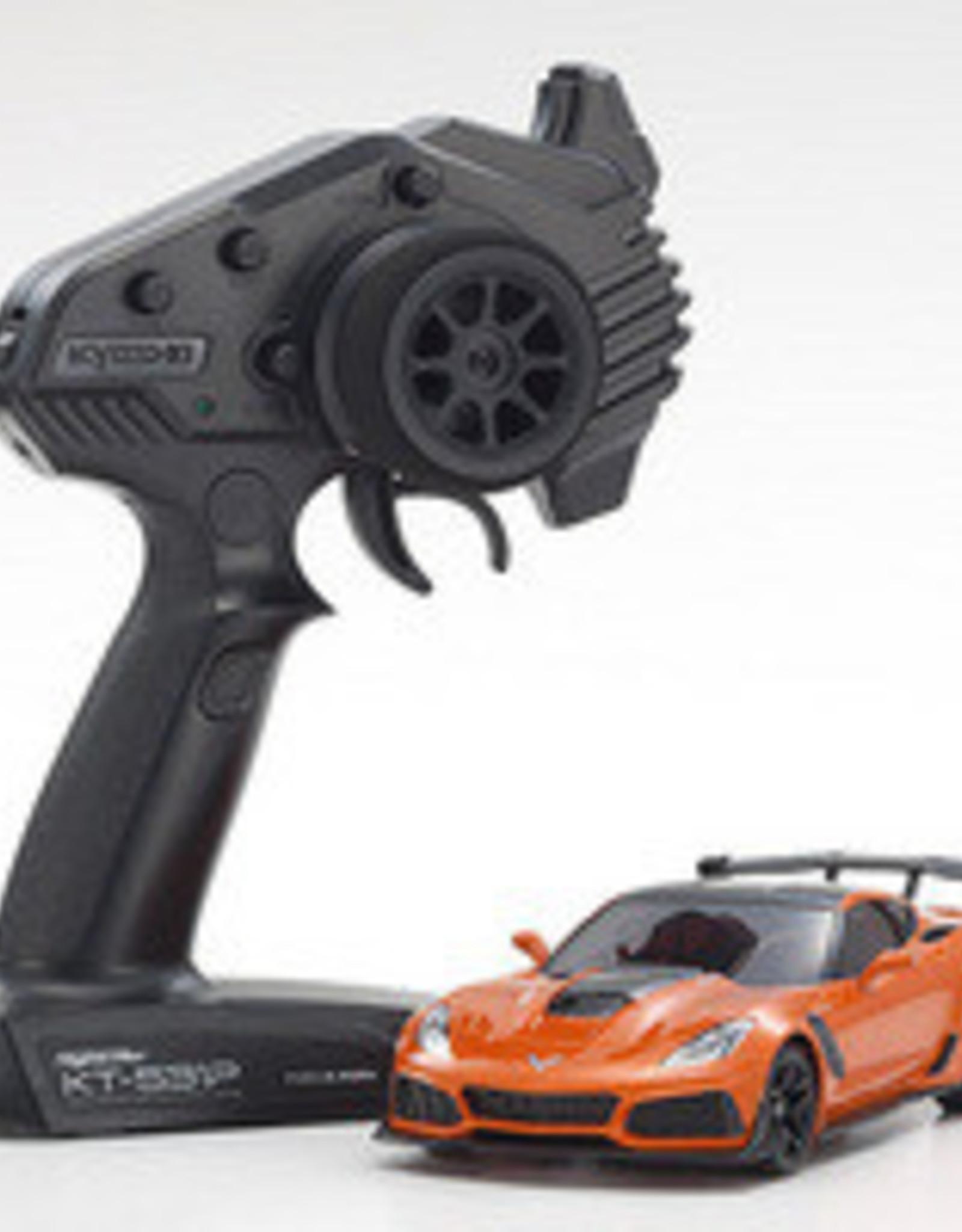 kyosho MINI-Z RWD Corvette ZR1 Sebring Orange w/ LED