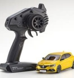kyosho MINI-Z Renault Megane R.S RTR, Yellow, w/ MA-03F Chassis, FWD