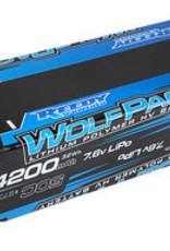 Reedy Wolfpack HV-LiPo Battery, 4200mAh 50C 7.6V, Shorty