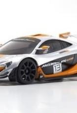 kyosho MINI-Z McLaren P1 GTR RTR, Silver/Orange, w/ MR-03 Chassis, RWD