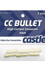 Castle Creations 4mm Bullet Connectors