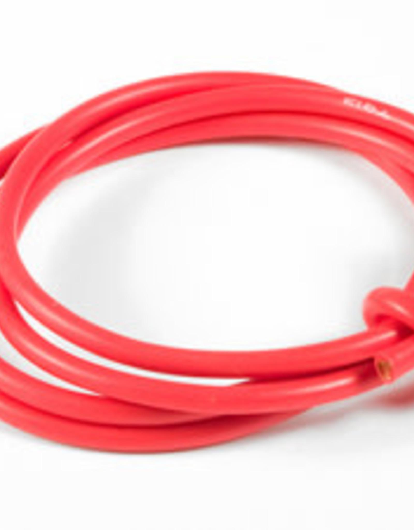 TQ Racing 13 Gauge Super Flexible Wire- Red 3'