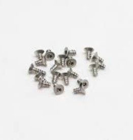 PN Racing PN Racing M2x4 Countersink Stainless Steel Hex Plastic Screw (20pcs)