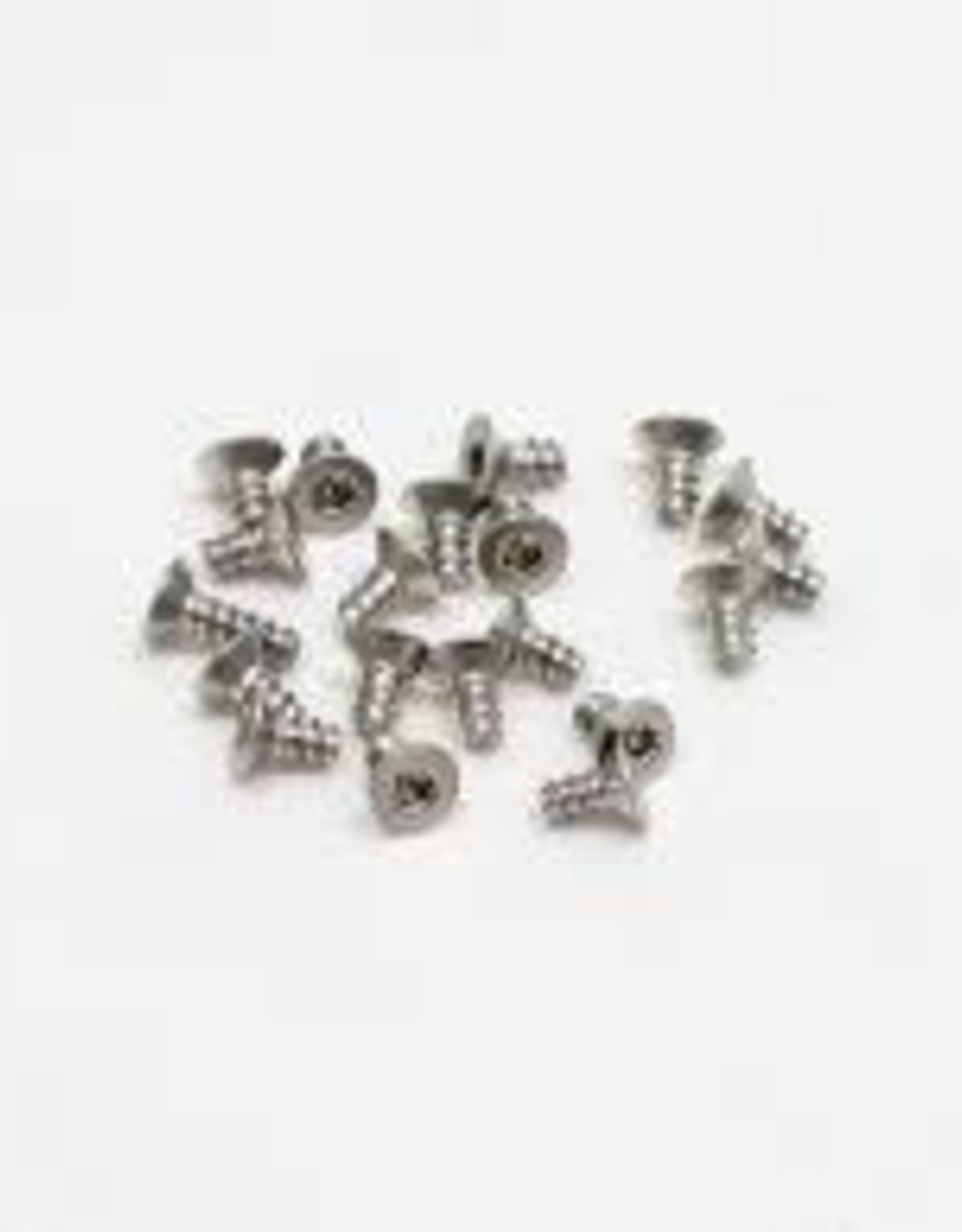 PN Racing PN Racing M2x4 Countersink Stainless Steel Hex Plastic Screw (20pcs)