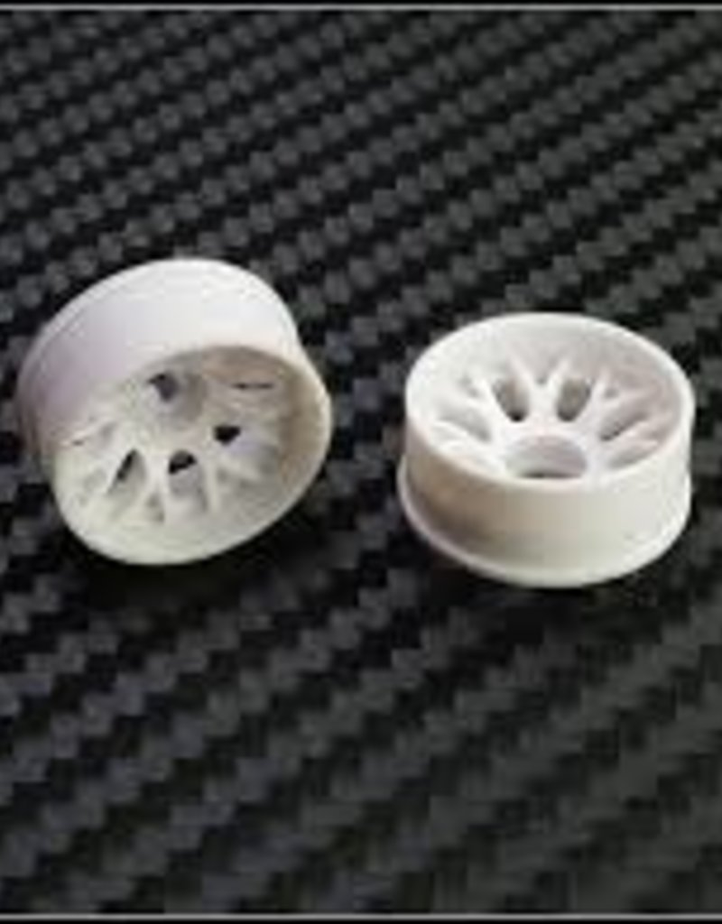 PN Racing PN Racing Mini-Z 2WD Machine Cut BBS Rear Wheel R0 White
