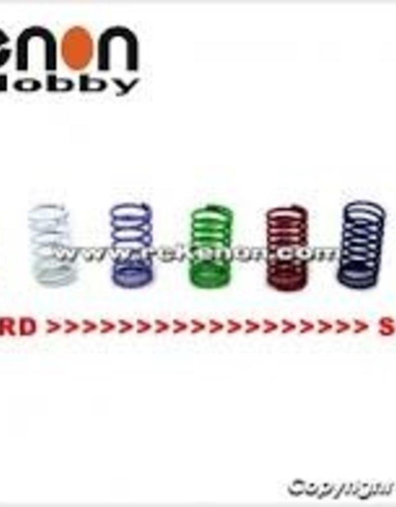 PN Racing PN Racing Mini-Z Center Shock Spring Set (7pcs)
