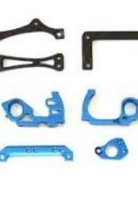 PN Racing PN Racing Mini-Z V5 LCG 98mm Motor Mount (Blue)