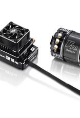 HobbyWing XeRun XR10 Pro G2 ESC w/ V10 G3 10.5T Sensored Brushless Motor - Combo 1/10th Drift, 2WD Off-road Racing