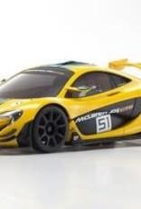 kyosho MINI-Z McLaren P1 GTR RTR, Yellow/Green, w/ MR-03 Chassis, RWD