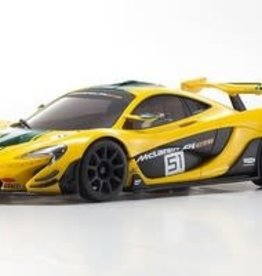 kyosho MINI-Z McLaren P1 GTR RTR, Yellow/Green, w/ MR-03 Chassis, RWD