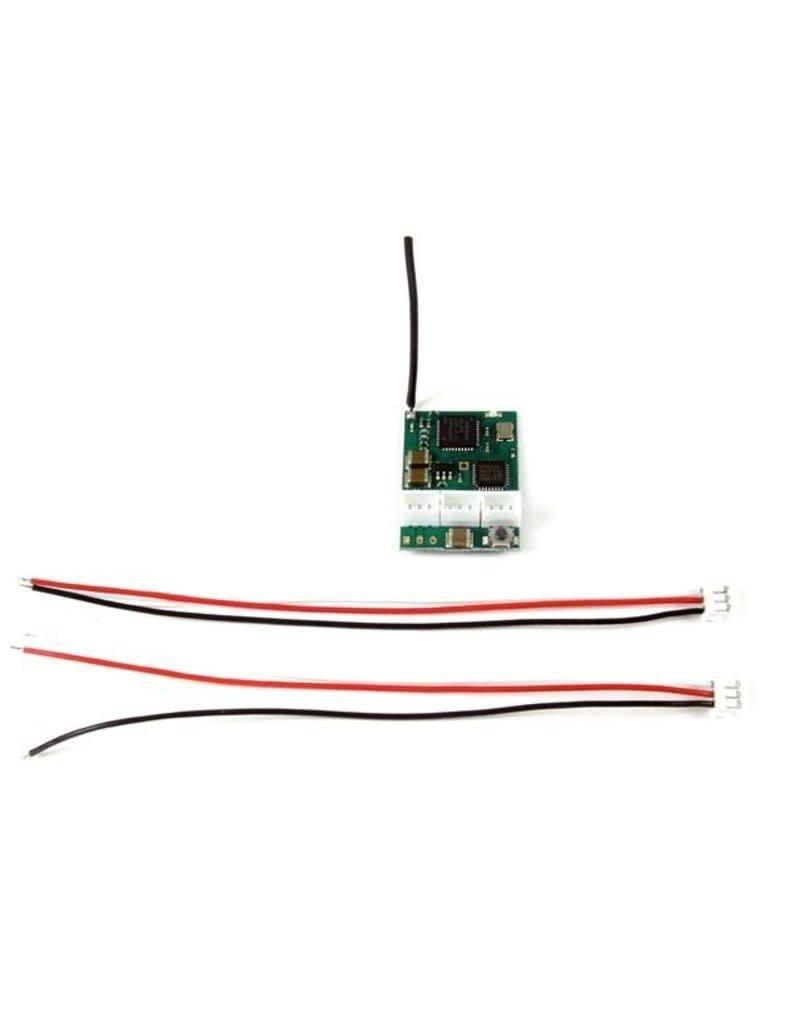 PN Racing PN Racing 2.4Ghz 3Ch Micro Receiver Compatible Spektrum DSM2