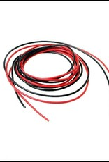 PN Racing PN Racing 22AWG Silicon Power Connect Wire (Black 3ft Red 3ft)