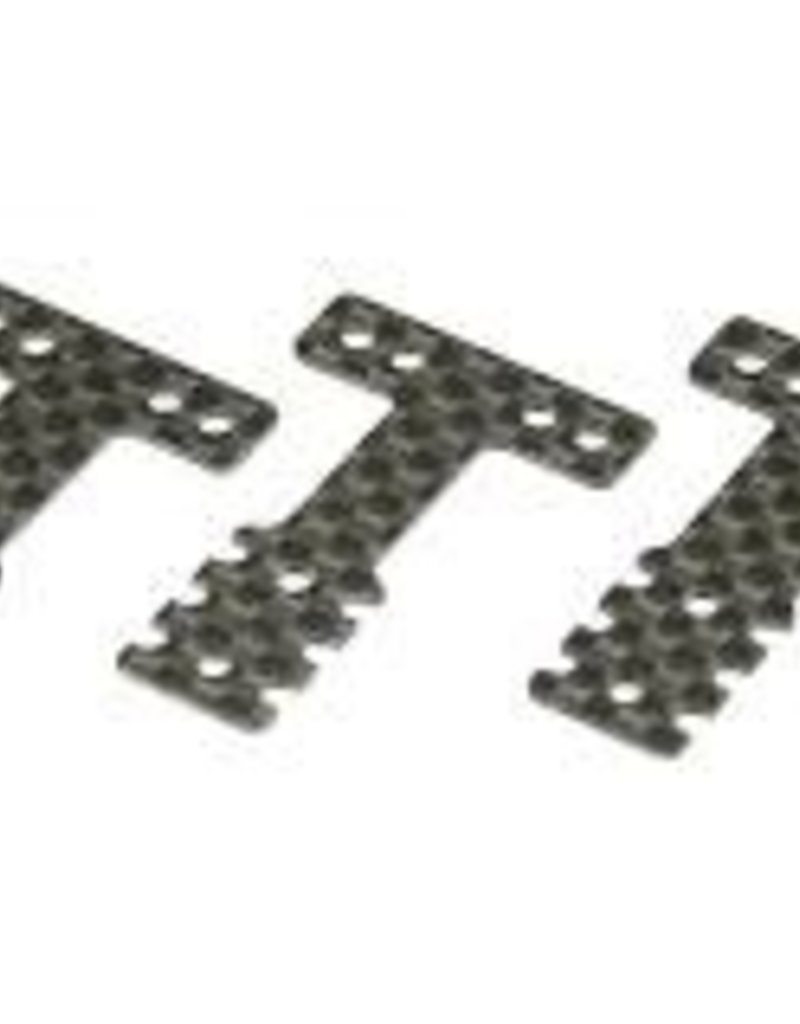kyosho Kyosho Mini-Z MR03 RM/RML Carbon Rear Suspension Plate Set