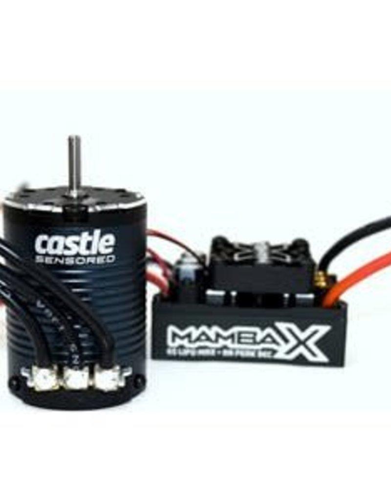 Castle Creations Mamba X 25.2V Waterproof ESC and 1406-2850KV Sensored Motor Combo