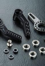 MST RMX 2.0 Alum. steering arm (black) 210589bk