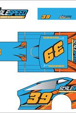 Scale Speed MudBoss Wrap - Style Swoosh