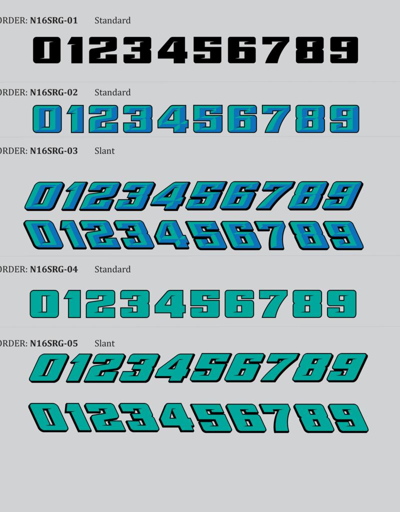 Scale Speed MudBoss Wrap - Numbers