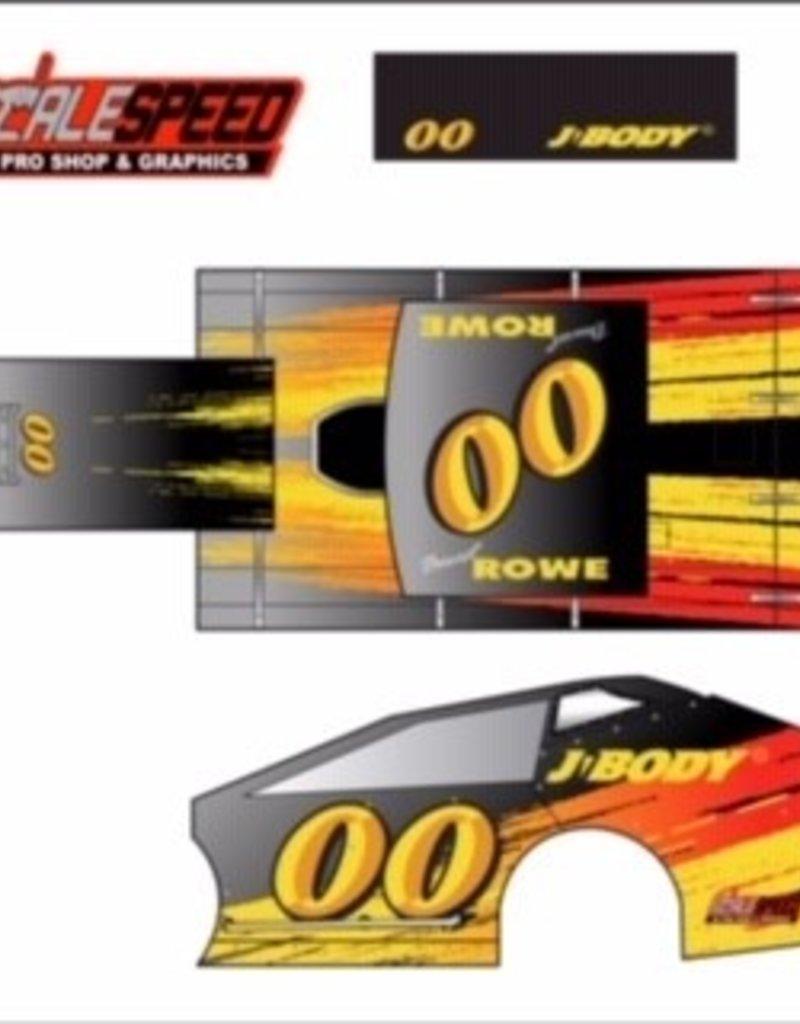 Scale Speed MudBoss Wrap - Style JBody Logo