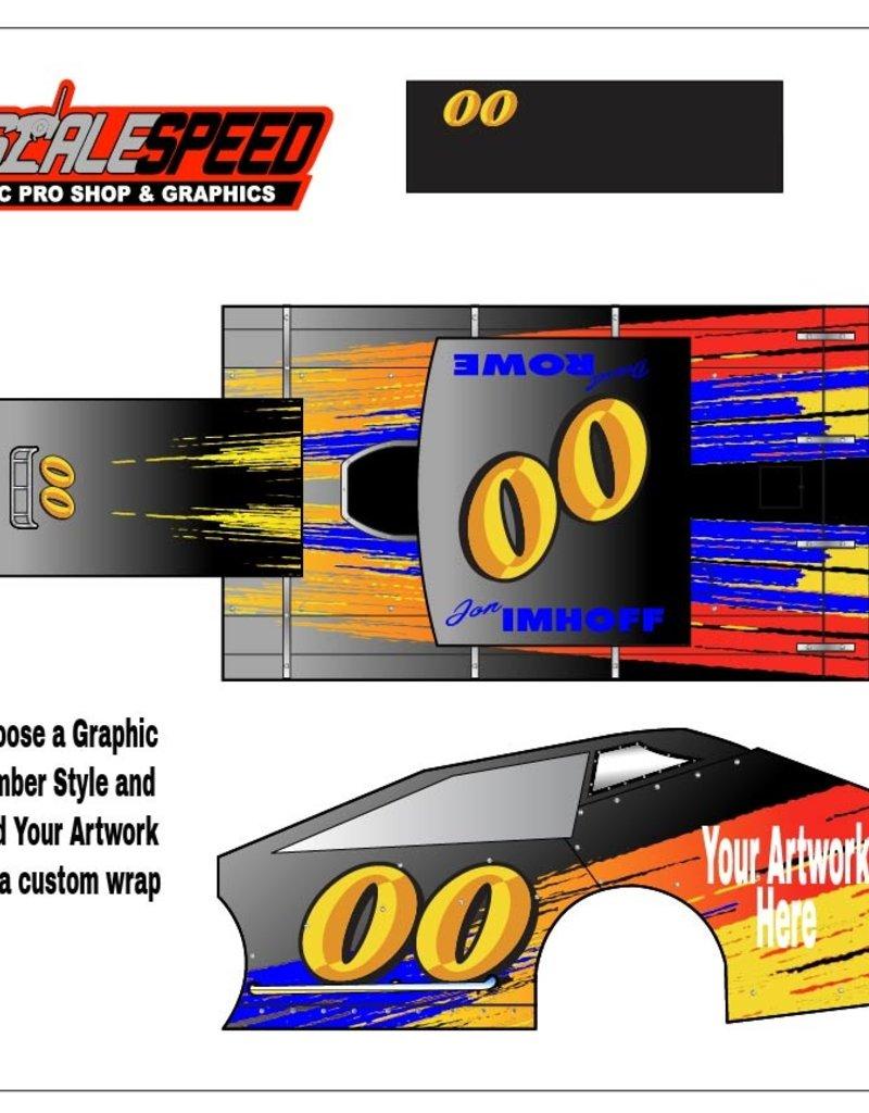 Scale Speed MudBoss Wrap RC - CUSTOM ARTWORK