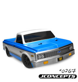 JConcepts JCO0267  1972 Chevy C10-Slash 4X4 Scalpel Speed Run Body