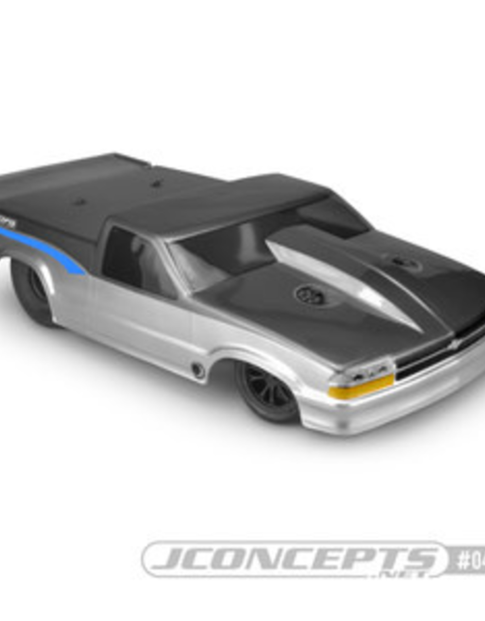 JConcepts JCO0413  2002 Chevy S10 Drag Truck Street Eliminator Clear Body