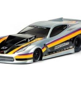 Pro-Line PRO157140  Chevrolet Corvette C7 Pro Mod Clear Body, for Slash 2WD Drag Racer