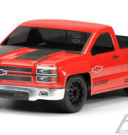 Pro-Line PRO345700  Chevy Silverado PRO-Touring Clear Body for SC Trucks