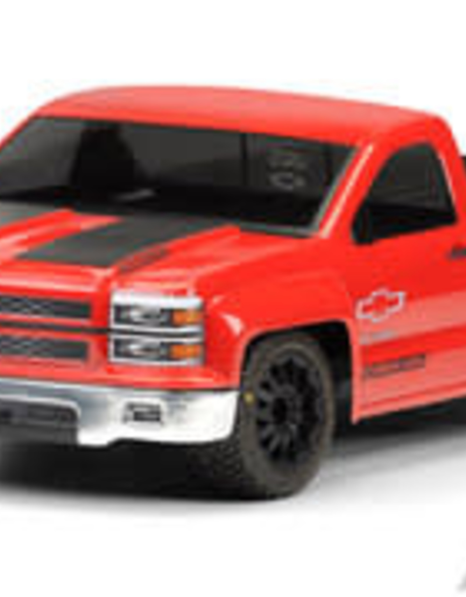 Pro-Line PRO345700  Chevy Silverado PRO-Touring Clear Body for SC Trucks