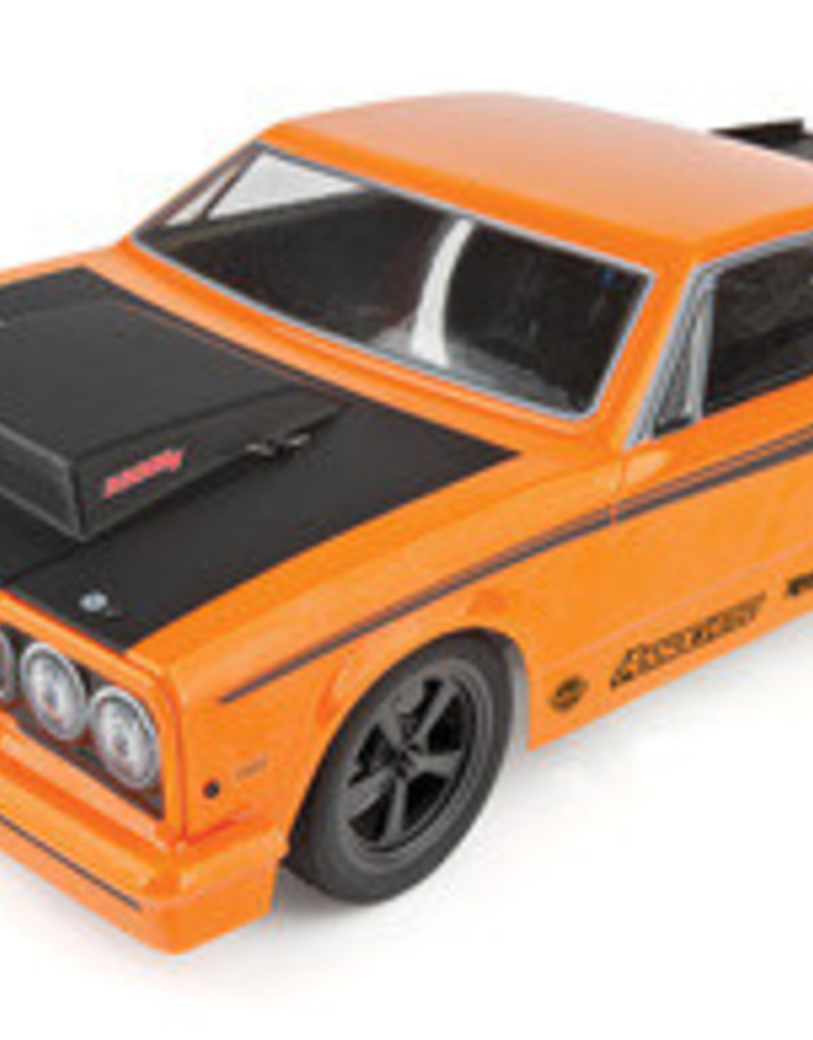 Associated ASC70025  1/10 DR10 Drag Race Car, Brushless 2WD RTR, Orange