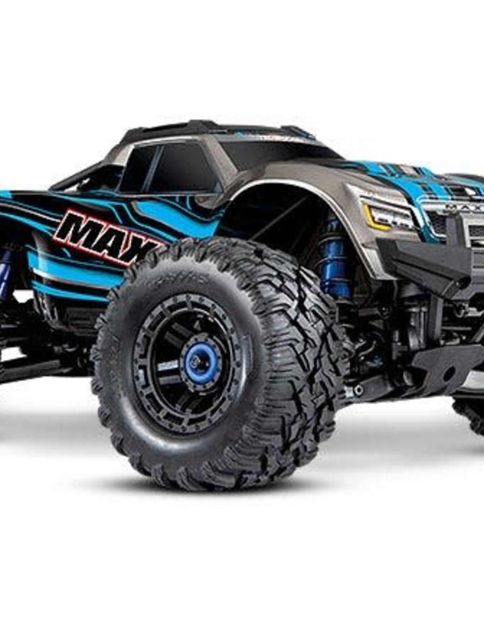TRAXXAS MAXX 4s-BLUE