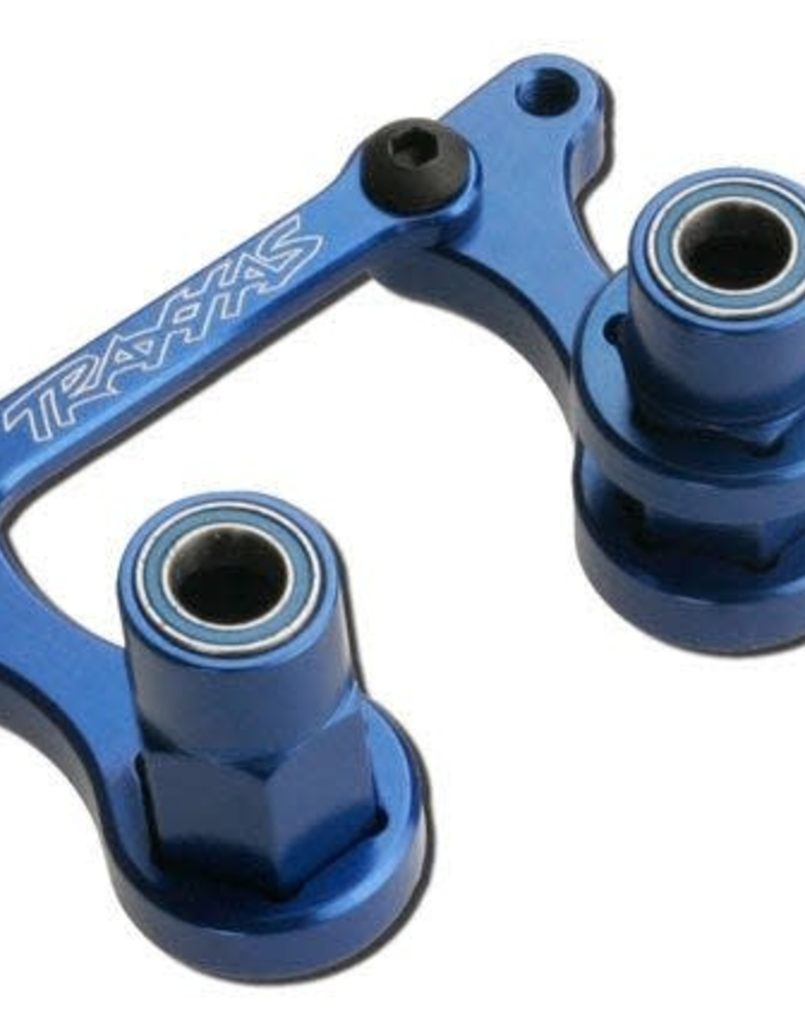 TRAXXAS TRX3743A BELLCRANKS/DRAGLINK ALUM BLUE