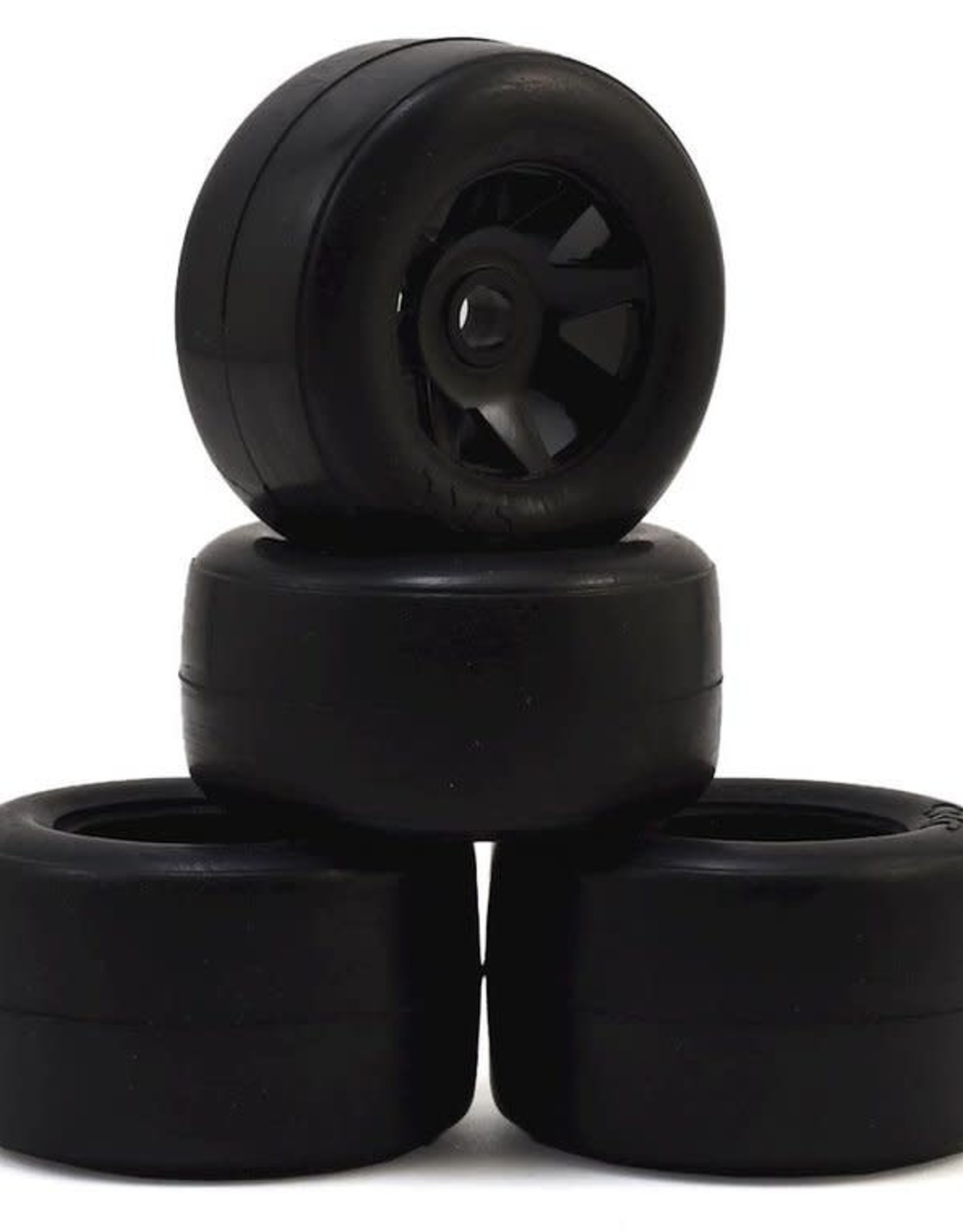 CRC CRC RT-1 Pre-Mounted GTR Front & Rear Rubber Tires (4)