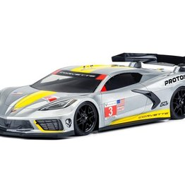 Protoform Protoform Chevrolet Corvette C8 Touring Car Body (Clear) (190mm)
