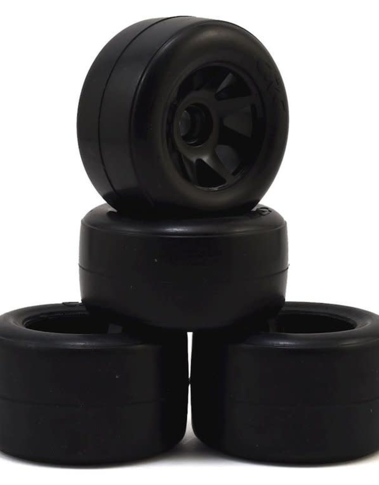 CRC CRC RT-1 Pre-Mounted F1 Front & Rear Rubber Tires (4)