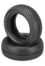 JConcepts Pin Downs 1/10 4wd Buggy Front Tire- Pink Compound, Medium Soft, for Carpet/Astroturf JCO3138010