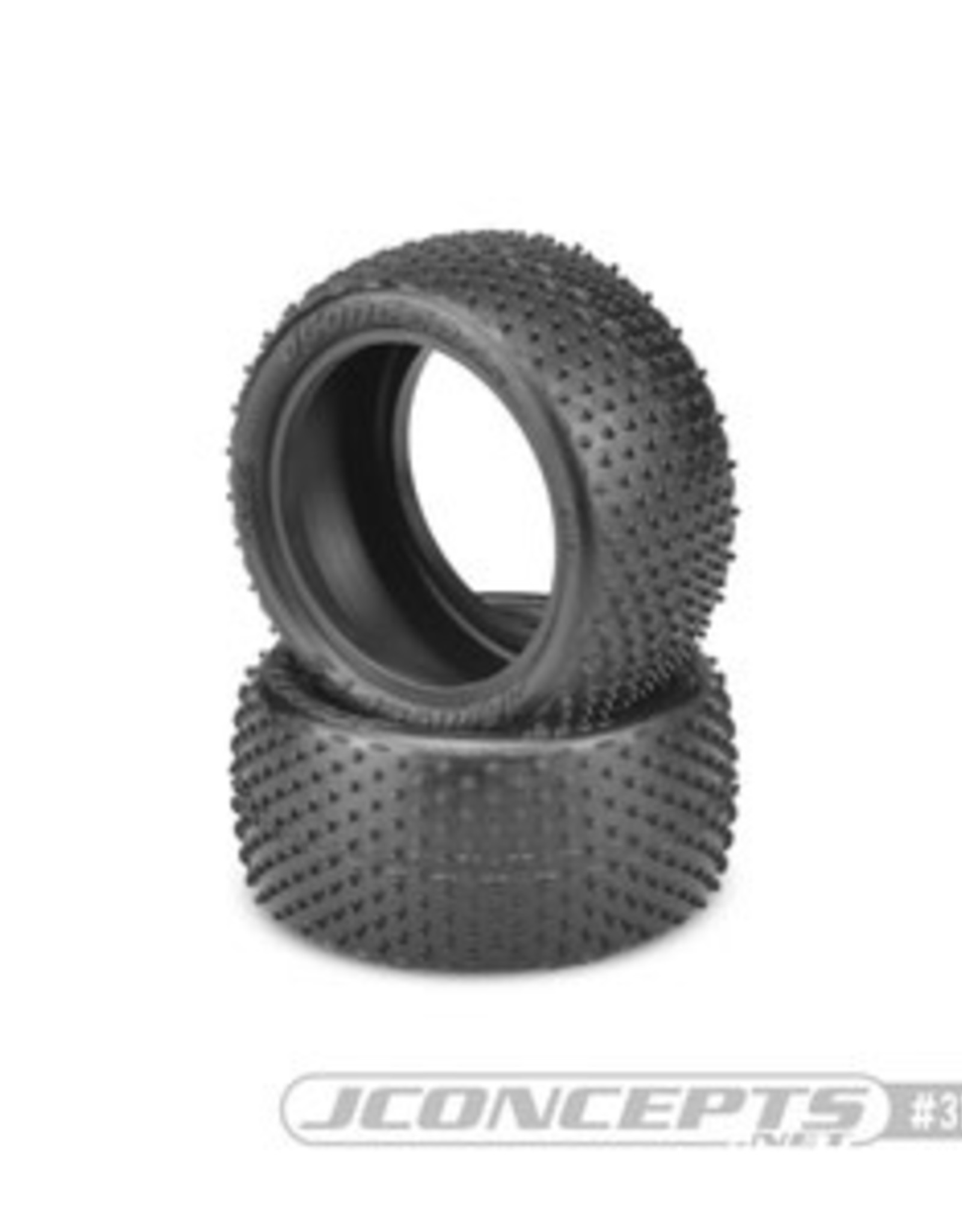 JConcepts Nessi 1/10 Buggy Rear Tire, for Carpet/Astroturf, Pink Compound  JCO3167010