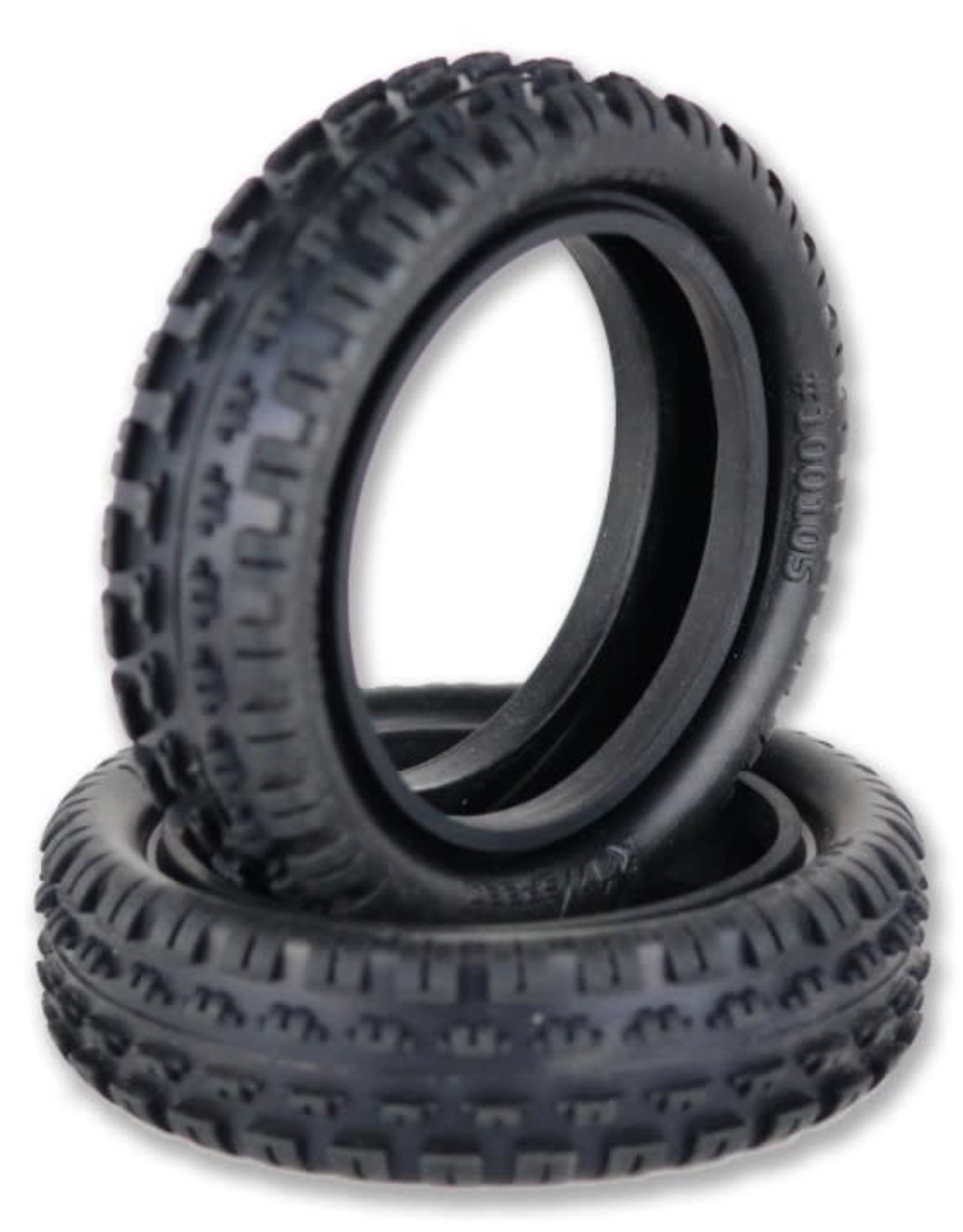 Raw Speed Incisor 2W Buggy Front Tire - Soft Compound (Carpet) - no insert  100105S