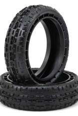 "JConcepts JConcepts Swaggers Carpet 2.2"" 2WD Front Buggy Tires (2) (Pink) JCO3137-010"